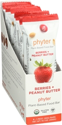 Berries + Peanut Butter, 1.76 oz Bars (8 Count)